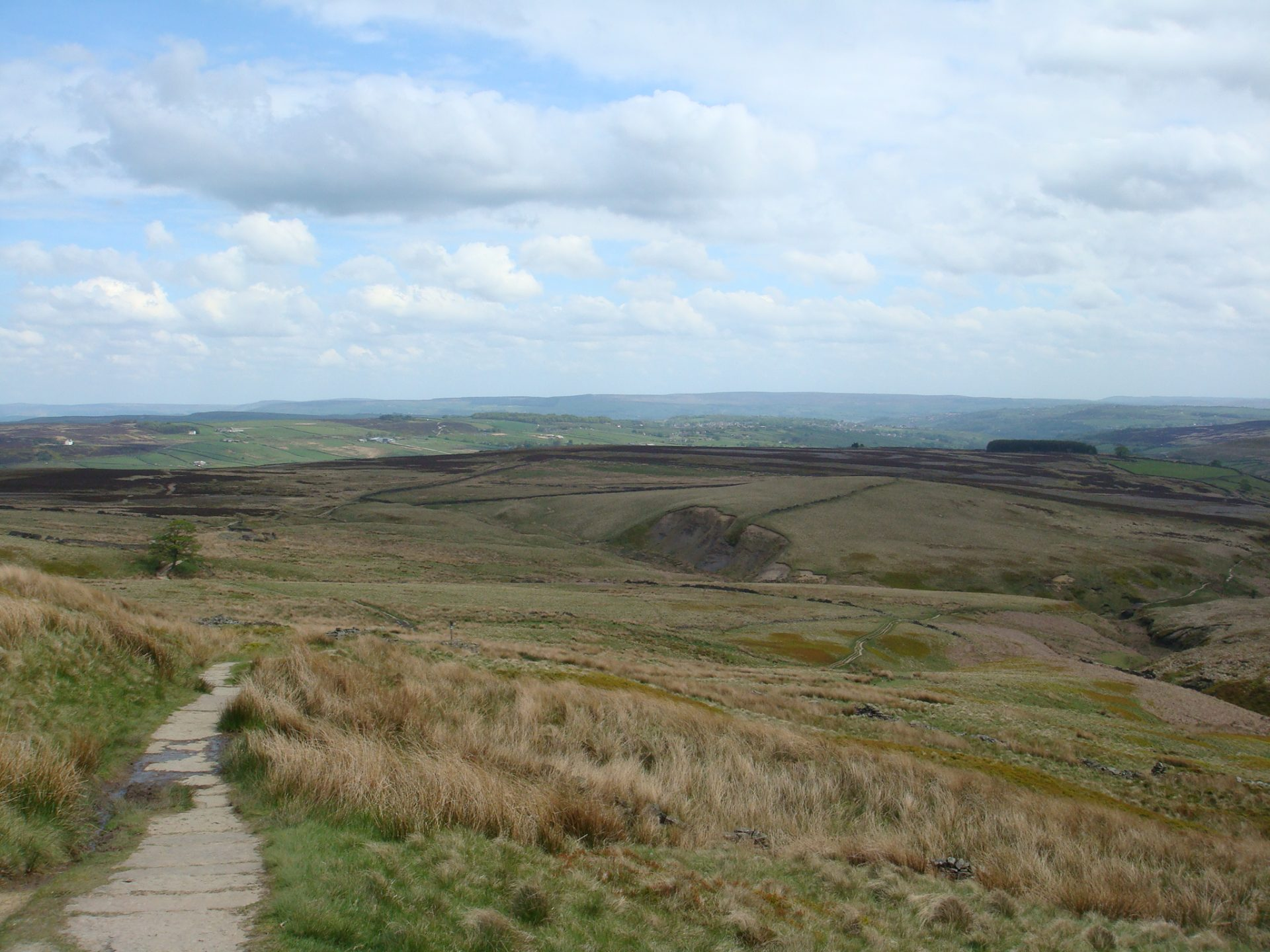 The moors of Wuthering Heights