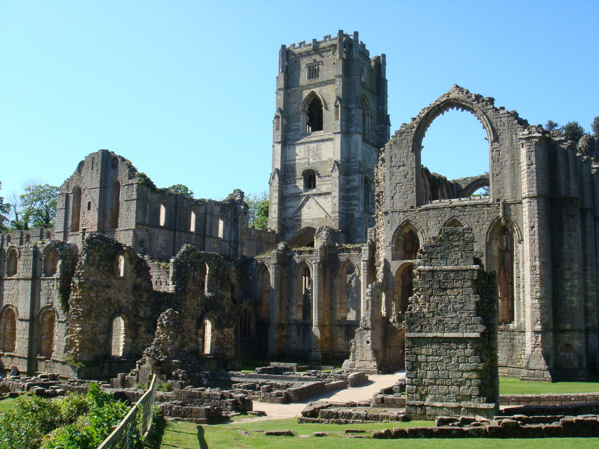 Fountains Abbey - worth $4M at time of its dissolution