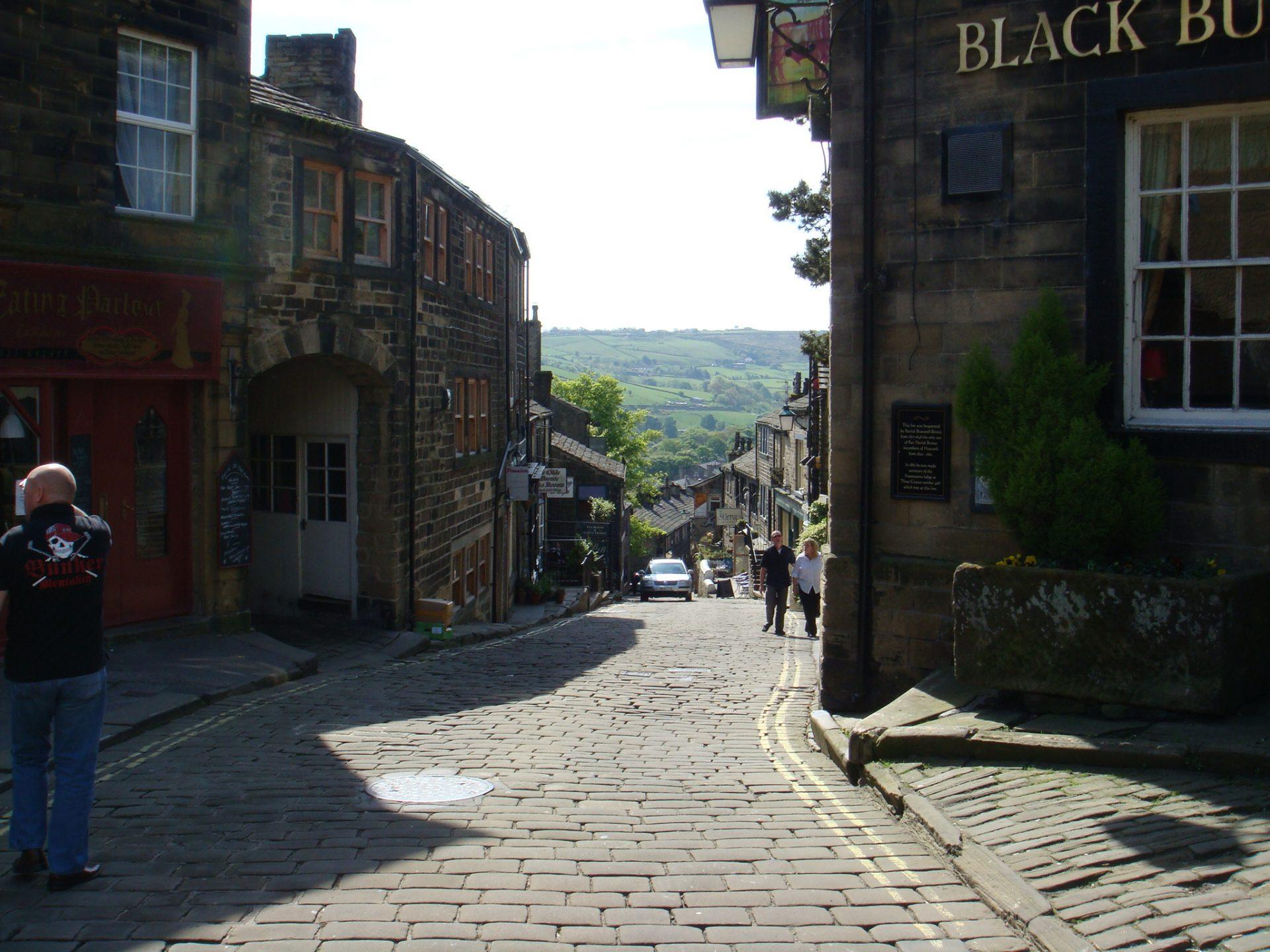 The village of Haworth