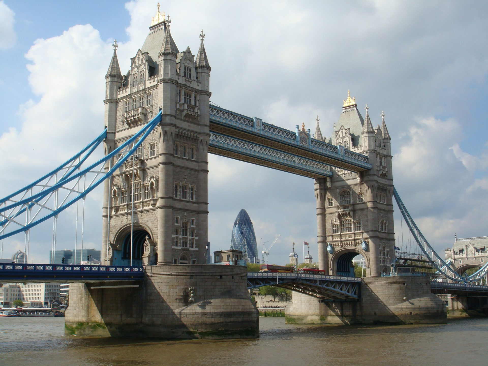 Well, this is just a pretty picture of the Tower of London Bridge.  But we know that others have been abused there.
