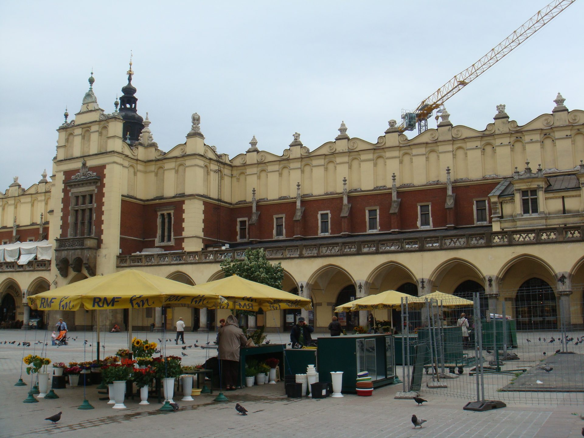 Cloth Hall, the historic center of the town square, was a medieval market.  Now it sells mostly handcrafted souveniers