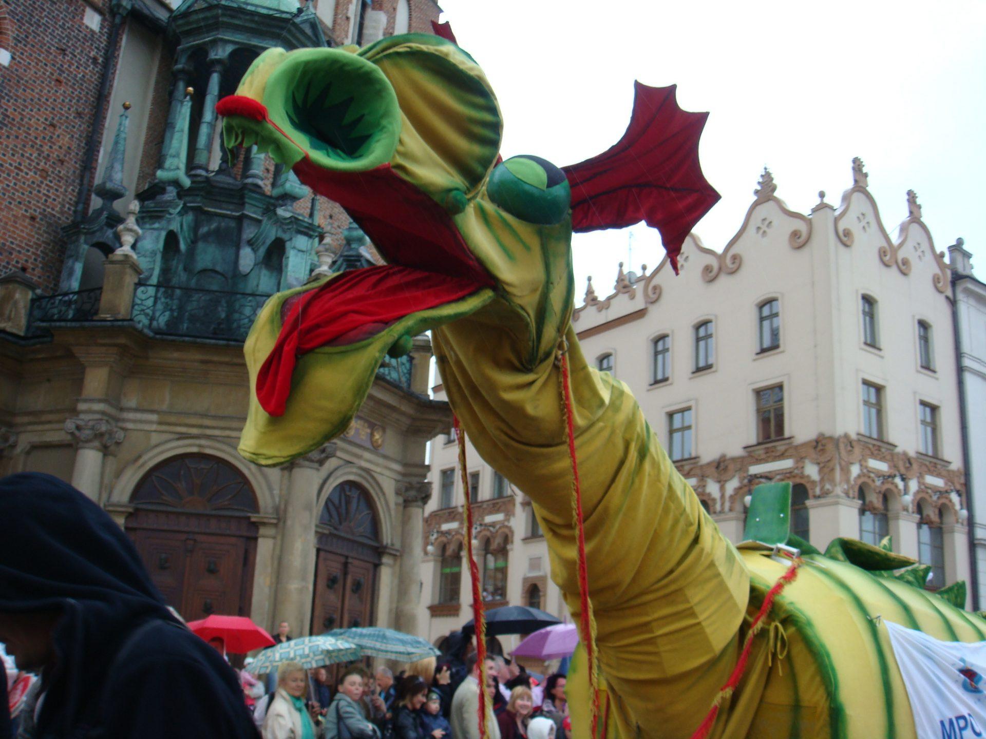 The present day Smok the Dragon