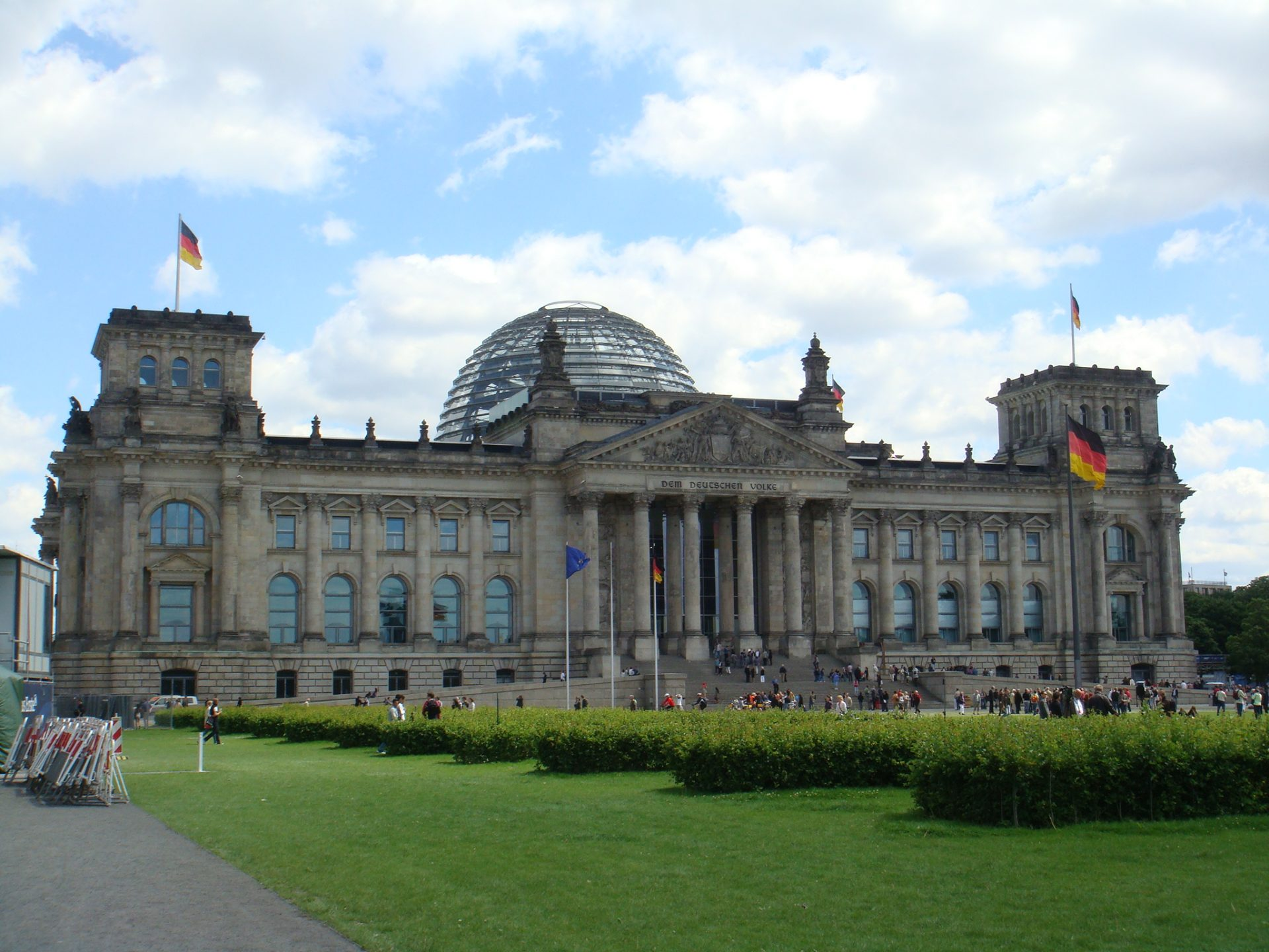 The Reichstag.  Beautiful.... and terrible.