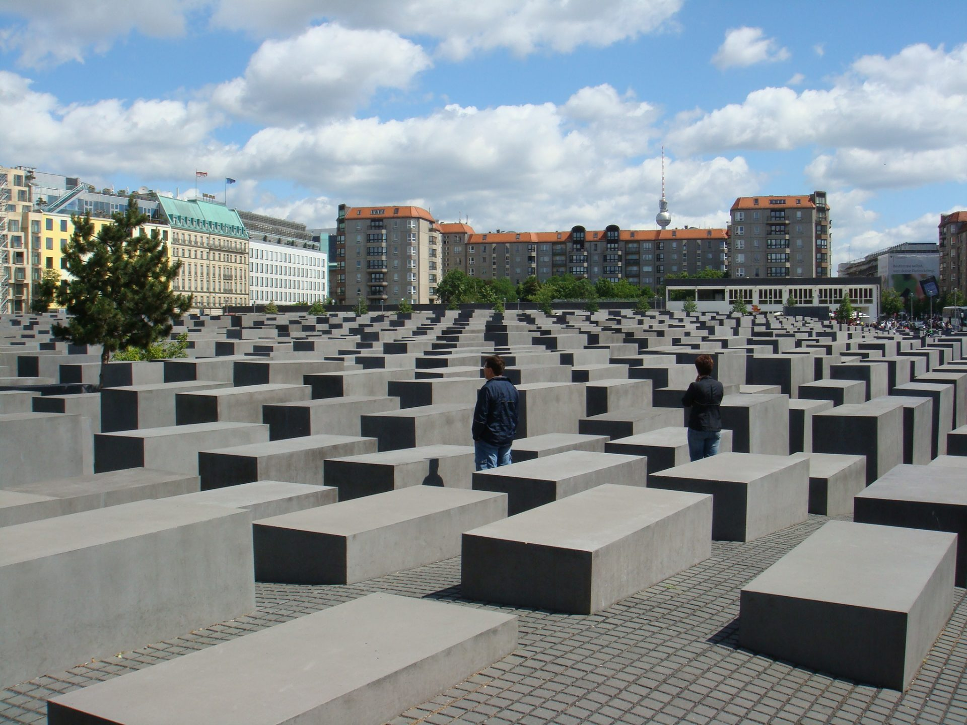 The Berlin Holocaust Memorial