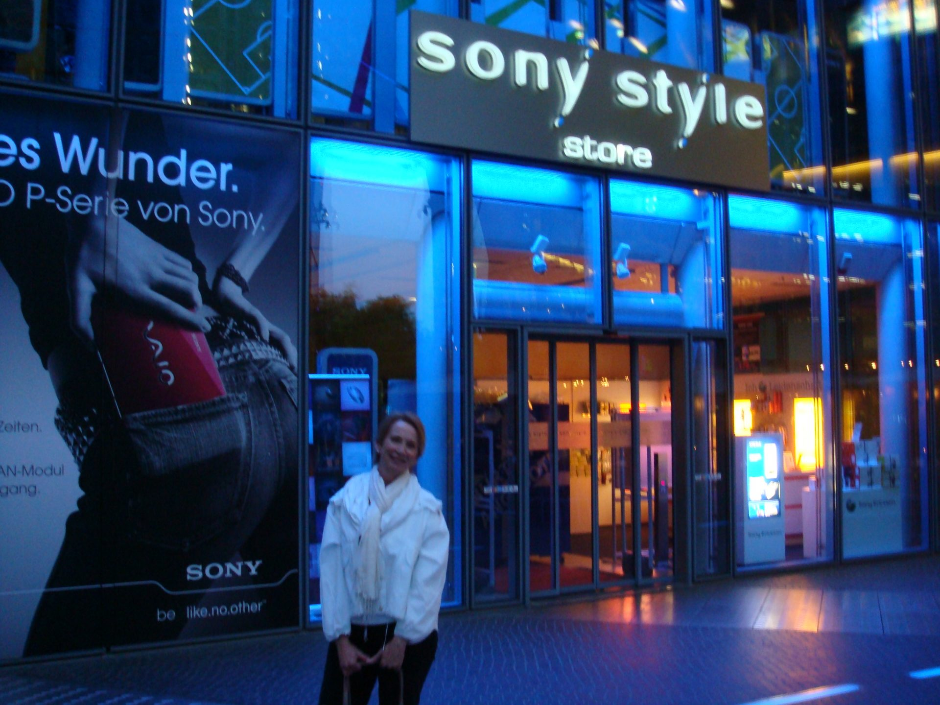 Can't keep me away from those Sony stores!