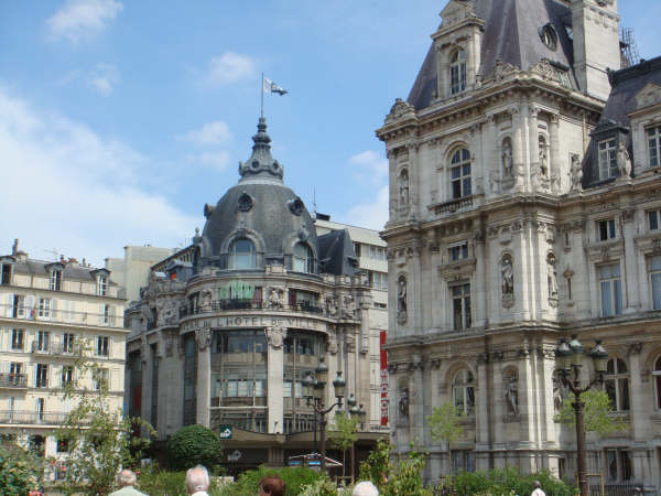 The oldest department store in Paris - the BHV (Bazar Hotel de Ville)