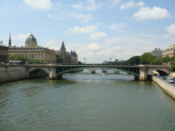 The River Seine MINUS the Bateaux Mouches
