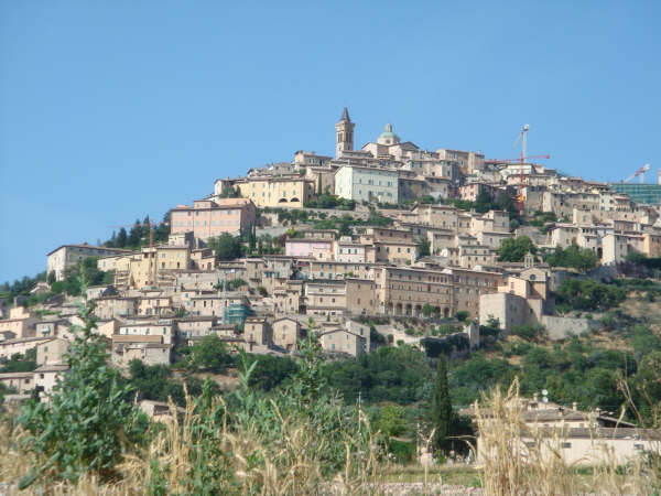 Typical Umbrian hill town
