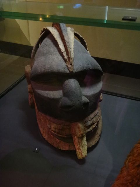 Maori tribal mask - this is HUGE when viewed in person
