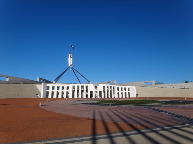 Parliament house Sunday