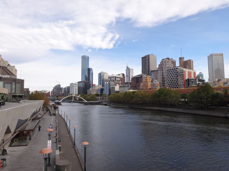 South Bank Yarra River TITLE