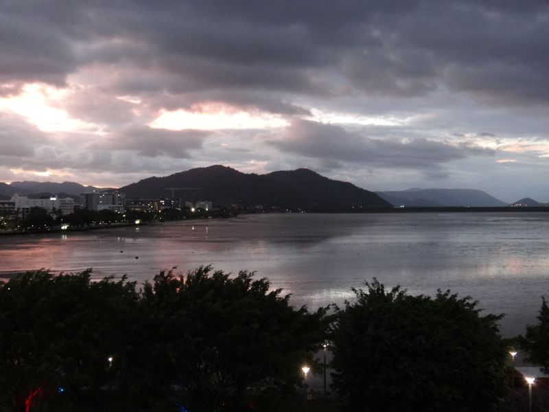 Cairns from our hotel room