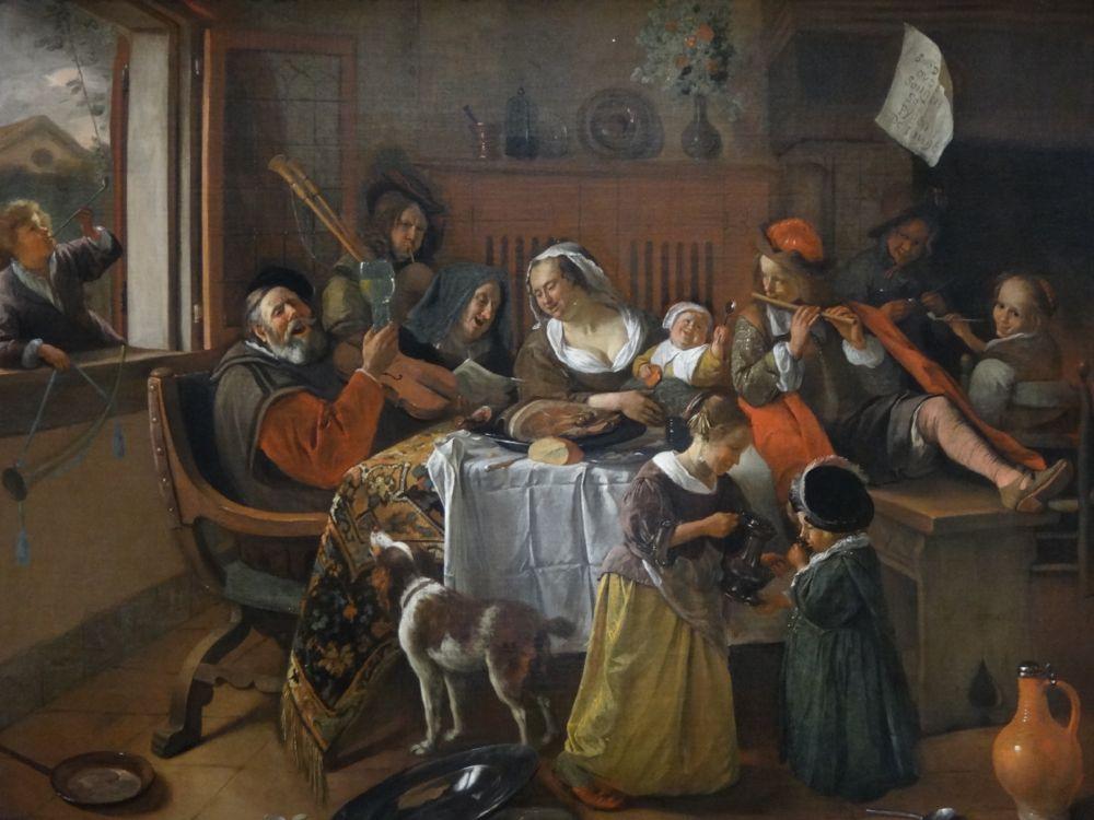 Vermeer Happy Family