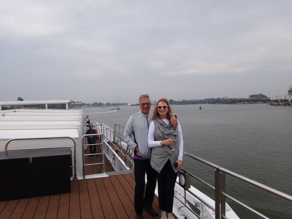 Roger & Elaine on River Empress
