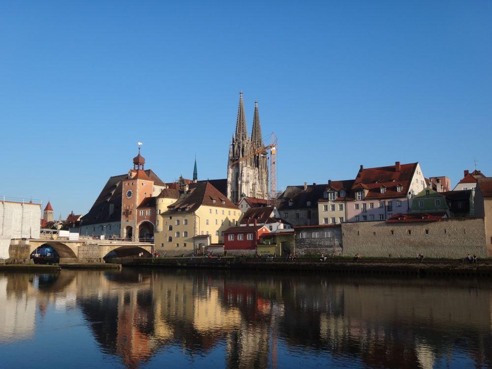 Regensburg - an ancient campsite for the Roman legions