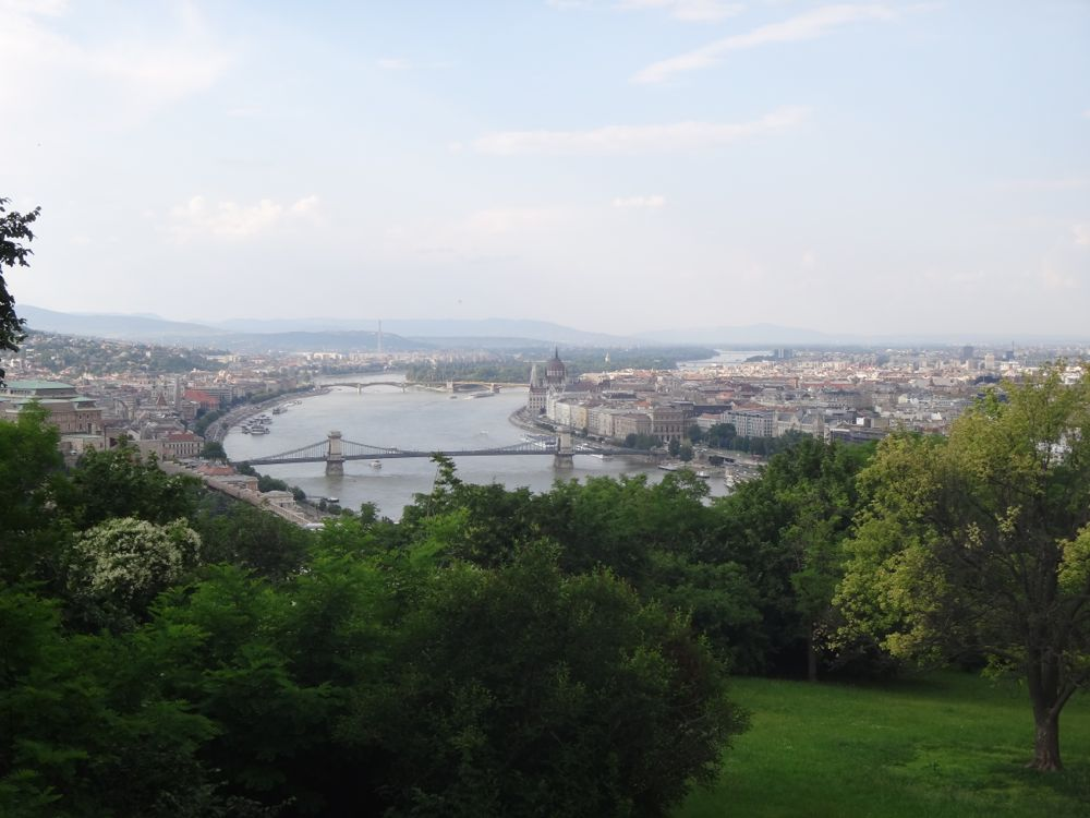 Budapest from hill