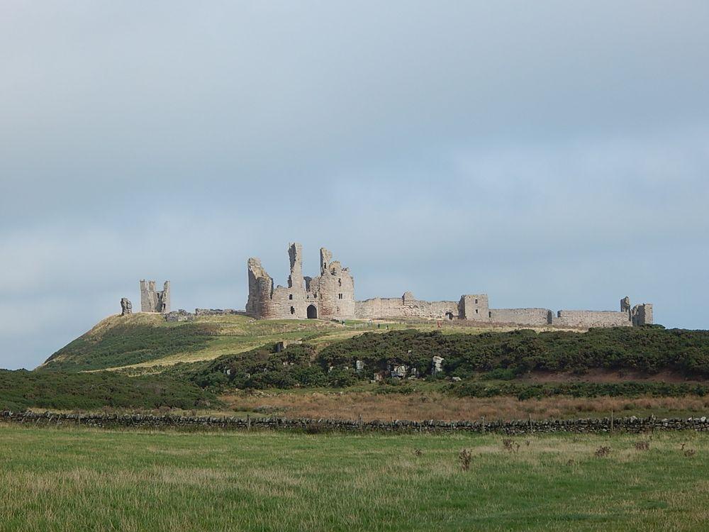 Dunstanburgh Castle - castle of 'nose-thumbing'